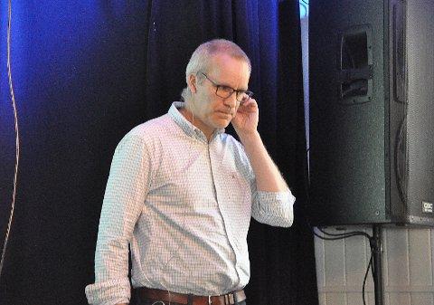 Magnus Eriksen i Equinor ber folk om å komme med innspill til planprogrammet for et eventuelt anlegg på Veidnes.