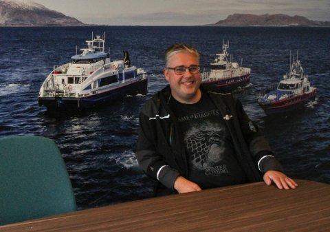 Paal Skorpen i Florø Skyssbåt fekk eit godt 2017-resultat, men har allereie brukt opp overskotet på losskøyta Kvanhovden.