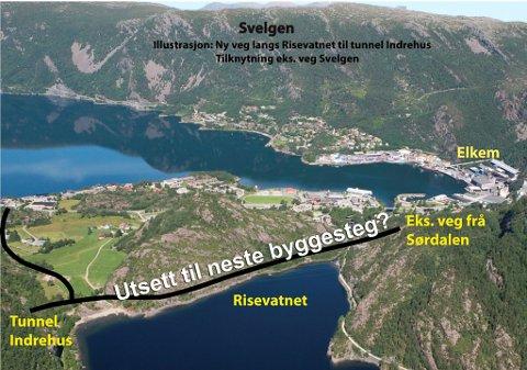 Sentrale politikarar i Bremanger fryktar at bygging av Svelgen-Indrehus ikkje inkluderer ein veg utanom Svelgen sentrum.