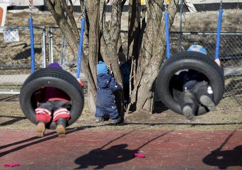 Stadig flere: Fredrikstad kommune melder om at det blir flere barnehagebarn med spesielle behov. På Fagskolen i Østfold kan barnehageansatte nå spesialisere seg for å jobbe med feltet.
