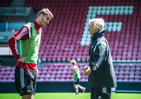 Spilte en sesong: Johan Hammar ble hentet til FFK foran 2015-sesongen. Her sammen med Arne Erlandsen som kom inn samme høst.