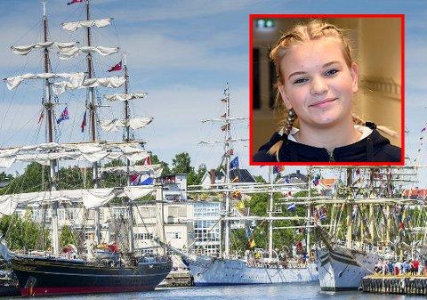 Ivrig seiler: I disse dager rekrutteres unge medseilere til Tall Ships Races 2019. Liv Nora Frorud (17) vil bli med som medseiler for tredje gang.