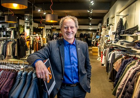 JUBILANT: Håkon Kristiansen fyller 80 år lørdag. Han har vært en en sentral skikkelse klesbransjen siden slutten av 50-tallet.