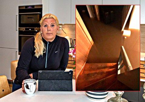 Oversvømt: Anita Vik våknet med kjelleren full av vann.