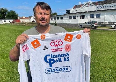Klar: Rino Hansen er klar for Øssia.