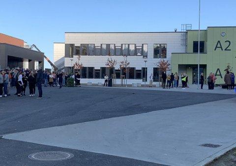 MELLOMTRINNET: FAU på Ankenes foreslår å flytte deler av byens 5.-7. klassinger inn på en fløy på nye Narvik ungdomsskole, og beholde ungdomsskolen på Ankenes og Bjerkvik som i dag. Arkivfoto: Jørn Indresand