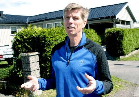 MISFORNØYD: Svein-Erik Figved er misfornøyd med formuleringen i spørsmålet.