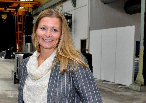 KLAR MED PODKAST: Mette Kolderup Rosenvinge, leder av Horten næringsforum.