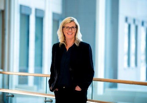LEDER SPENNENDE PROSJEKT: Tone-Merete Hansen, senior vice president i Kongsberg Digital.
