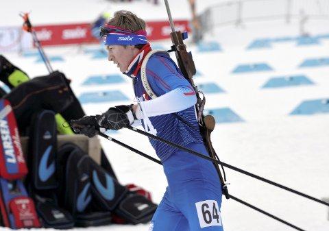 NM NESTE: Dombås-løperen Jo Brøste Nørstegård vant Vingrom-rennet i skiskyting, som var generalprøven til NM. Nå har han som målsetting og ta med seg en NM-medalje fra Holmenkollen neste helg. Alle foto: Kjell H. Vollan
