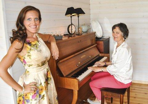 KONSERT: Gunda-Marie Bruce og Toril Lindstad innleder konsertsommeren på Granavollen.