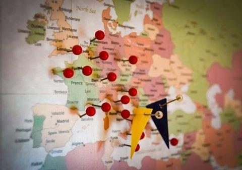 HER KOMMER VI FRA: Blant innbyggerne på Hadeland med utenlandsk pass er det absolutt flest litauere.