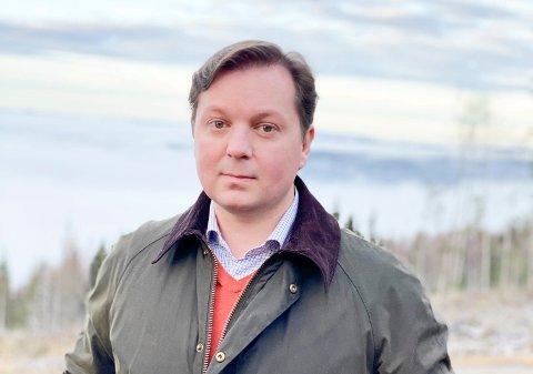NR. 15 i REKKA: Henrik W. Bärnholdt er 15. generasjon som eier slekseiendommene ved Rønnerud gård og Mylla.