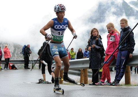 GIKK FORT: Petter Stokkeland viste god form da han gikk inn til annenplass i Lysebotn Opp. Tistedalen-løperen har fått en god start på Blink-festivalen.