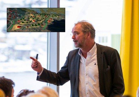 Statsforvaltar i Vestland, Lars Sponheim, var i dialogmøte med Ullensvang kommune om planane i haust.