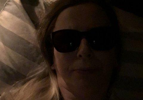 PROVOSERT: Gunn Døsen er sengeliggende det aller meste av tiden. Bilde tatt av henne denne uka.