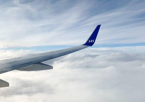 ØKER: SAS er blant selskapene som øker til og fra Helganes. SAS åpner også ny utenlandsrute i sommer.