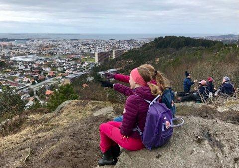 POPULÆRT TURMÅL: Storasundfjellet i Haugesund var en av de mest besøkte turene i fjor.