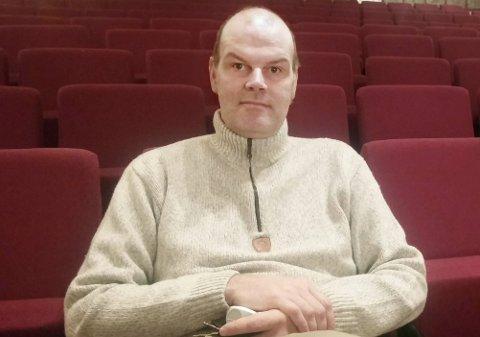 HAR FÅTT TILBUDET: Kultursjef Andreas Hoffmann i Lebesby kommune er tilbudt jobben som museumsbestyrer på Gamvik museum. Foto: Privat