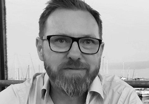 ETABLERING: Denne uken startet Øyvind Bjørnå bedriften Chrodin Prosjekt- og byggeledelse AS.