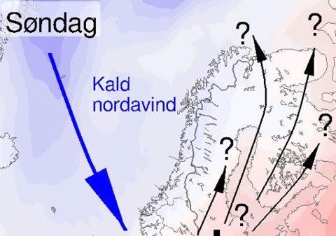 IKKE BYTT DEKK ENDA: Skal du ut å kjøre i nord den kommende tiden bør man ha vinterdekk om man skal kjøre i høyden.