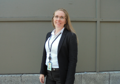 NY JOBB: Lise Hay er utdannet jurist og har tidligere arbeidet som advokat hos Advokatene Leiros og Olsen AS og skattejurist i Skatteetaten. Som ny namsfogd får hun kombinert sine fagområder: Sivil rettspleie og ledelse.