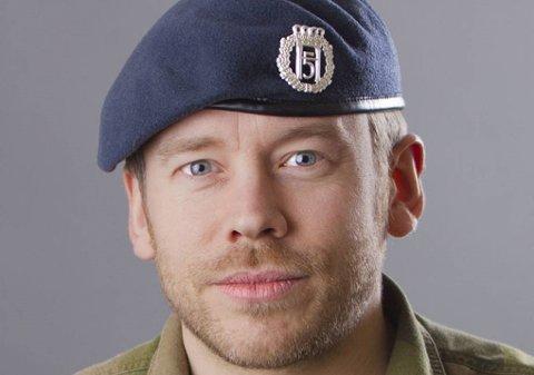 FØLGER MED: Pressetalsmann ved Forsvarets operative hovedkvarter, Brynjar Stordal, sier de følger med på det russiske krigsskipet som har beveget seg nærmere den norske grensen.