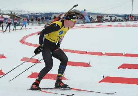 Martin Femsteinevik klarte ikkje å nå opp på dei to siste individuelle NM-distansane. (Foto: Joakim Halvorsen).