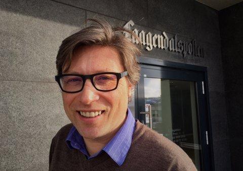 FORNØYD: Jørn Steinmoen, ansvarlig redaktør i Lp, er svært glad for opplagsøkningen.