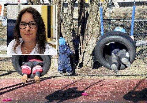 Frir til politikerne: Lisa Pedersen, daglig leder i Veslefrikk FUS barnehage, ber politikerne tenke på barnehagene når de vedtar neste års budsjett.