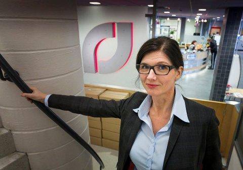 DELER UT PENGER: Administrerende banksjef i LillestrømBanken, Siri Bergreen, gleder seg til å dele ut 3 millioner til lokale lag og foreninger.
