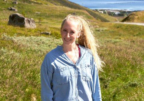 Kaja Nylund lar seg lett inspirere av det lofotske landskapet.  I hennes nyeste bokserie foregår handlingen i Sennesvik og på Ure.