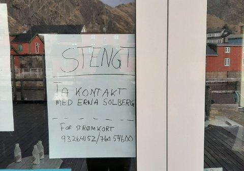 FRUSTRASJON: - Jeg skrev denne lappen i ren frustrasjon, sier Ronny Østrem ved Live Lofoten AS