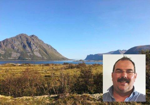 SATSER:Raymond Jonassen legger ikke skjul på at han stor tro på det nye hytteprosjektet.