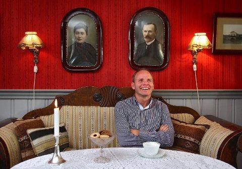 Tett på. Hjemme hos Reidar Kaabbel, ny ordfører i Våler.