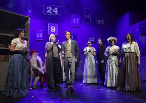 GOD STEMNING: Totalt ti forestillinger ble det for «Et juleeventyr» på Parkteatret.