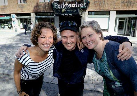 "Eline Smith Rydningen, Øystein Sørensen og Kjersti Elvik skal fremføre ""Leonard Cohen-some kind of a gipsy boy"" på Parkteatret."
