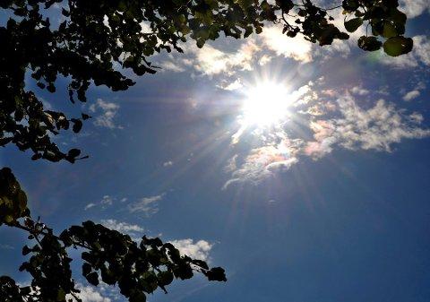 OPPTUR: Lørdag bikker gradestokken 20 grader og sola kommer til Moss.