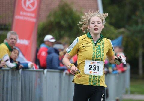 KOM TILBAKE: Etter bom starten av NM-uka viste Aurora Gjølsjø (19) fra OK Moss hva hun virkelig kan på slutten av mesterskapet.