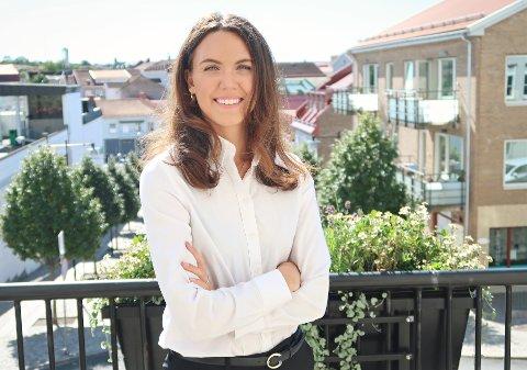 NYSTARTET FIRMA: 29 år gamle Belinda Forssten har startet opp Advokatfirmaet BBF med base i Sarpsborg.