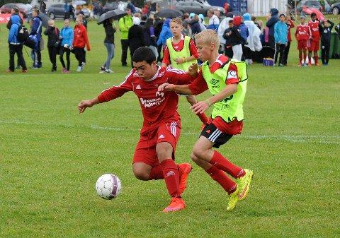"""GOALGETTER: Mohammed """"Robin"""" Jomaa var helt ustoppelig med sine syv mål. Alle Foto: Solfrid Therese Nordbakk"""