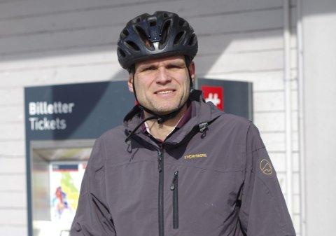 Miljøengasjert til beinmargen: Einar Wilhelmsen vil at det skal bli enklere å velge bort bilen.