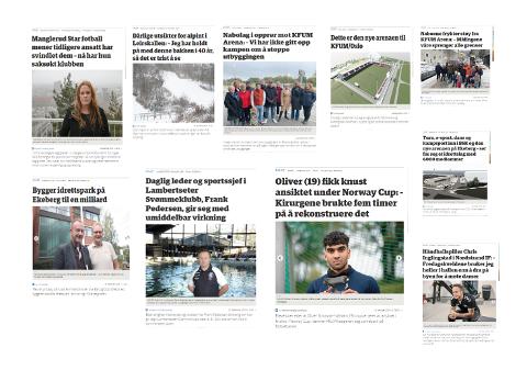 TOPP TI: Her er de ti best leste sportsakene i Nordstrands Blad i 2019 med innhold i alt fra økonomi, nabokrangel, skader og personhistorier.