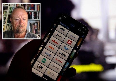 PROBLEMER: Telenor har hatt problemer med tjenesten siden mandag. Nå er Ole Narverud lei.