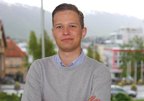 TREKKER SEG: Nikolai Skogan fra Malangen ble sist høst valgt til nestleder i KrFU. Nå trekker han seg.