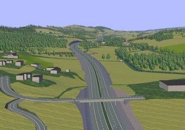 SNART I GANG: 1. juni neste år skal utbyggingen av E16 mellom Bagn og Bjørgo ta til. Stortinget har nå gitt grønt lys for prosjektet.Illustrasjon: Statens vegvesen