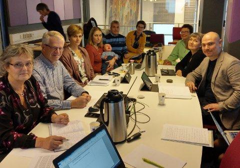 SAMLER SEG OM BUP: Hovedutvalg for helse, omsorg og velferd i Gjøvik.