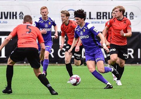 Matias Belli Moldskred scoret 1-0-målet til Raufoss mot Åsane.