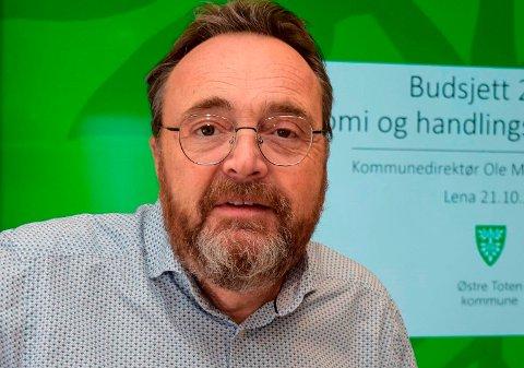 VIL HA SVAR: Kommunedirektør Ole Magnus Stensrud i Østre Toten hyrer inn egen ekspertise i håp om å «oppklare» norgeshistoriens største og alvorligste hackerangrep mot en kommune.