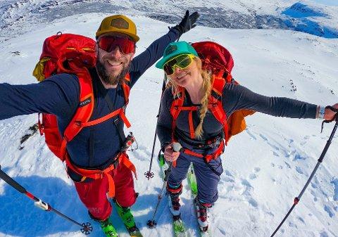 DRØM: Drømmen til Frank (39) og Heidi Tindvik (41) har blitt til virkelighet. De har gått fra å være fritidsinnbyggere til heltidsinnbyggere.